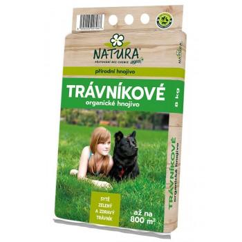 Trávníkové hnojivo Natura, balení 8 kg