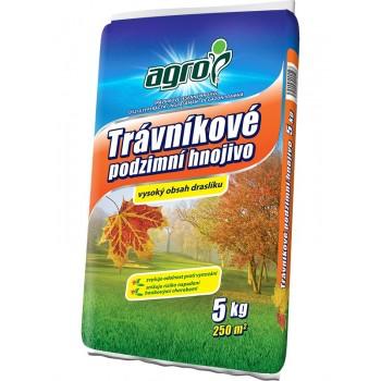 Trávníkové podzimní hnojivo, Agro, balení 5 kg