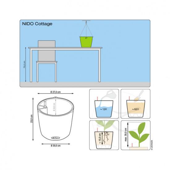 Truhlík NIDO Cottage komplet set-1377