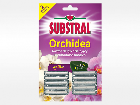 Tyčinkové hnojivo pro ORCHIDEJE, Substral, balení 10 ks