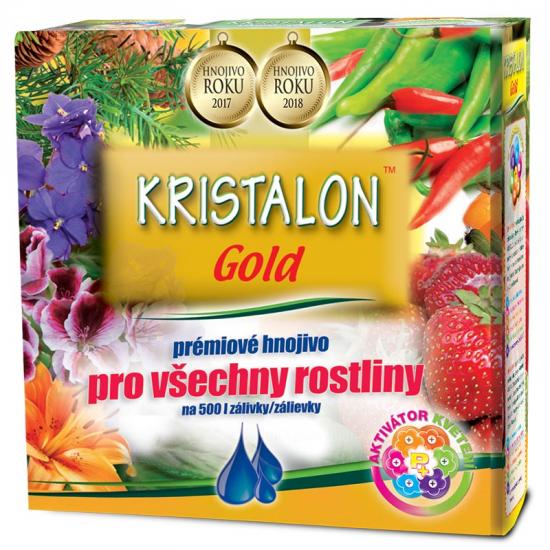 Univerzální hnojivo Agro Kristalon GOLD, balení 0.5 kg-3134
