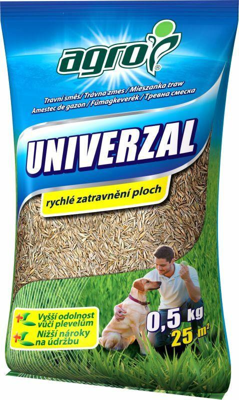 Levně Univerzální travní směs, AGRO, balení 0.5 kg