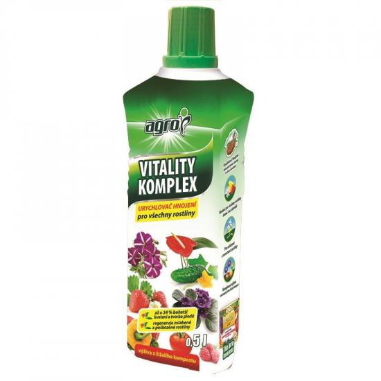 Univerzální urychlovač hnojení, Agro Vitality Komplex, balení 500 ml