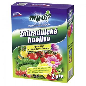 Univerzální zahradnické hnojivo Agro, balení 2.5 kg