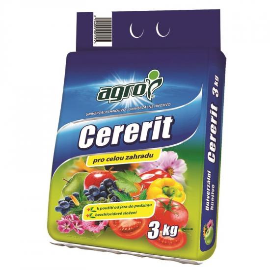 Univerzální zahradnické hnojivo Agro CERERIT, balení 3 kg