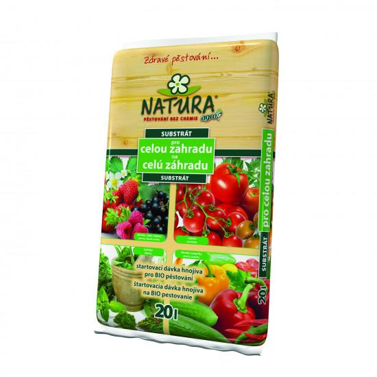 Univerzální zahradnický substrát Natura, balení 20 l