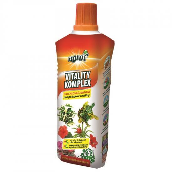 Urychlovač hnojení pro pokojové rostliny, Agro Vitality Komplex, balení 500 ml