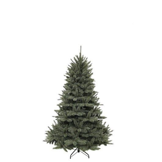 Vánoční umělý stromek, zelenomodrý, výška 155cm-3726