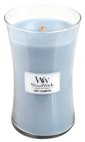 WW svíčka sklo3 Soft Chambray-135