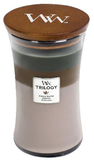 WW TRILOGY svíčka sklo3 Cozy Cabin-829