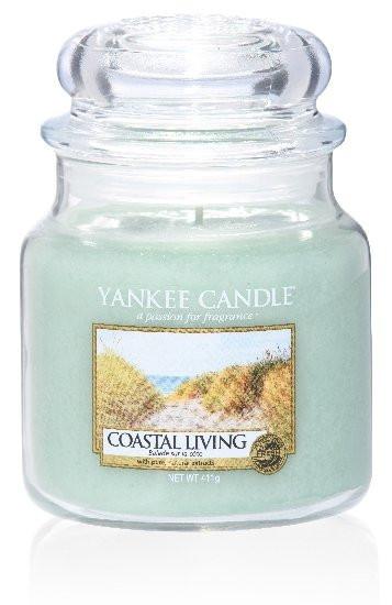 Yankee Candle svíčka classic střední Coastal Living-547