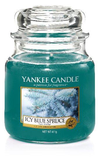 Yankee Candle svíčka classic střední Icy Blue Spruce-167