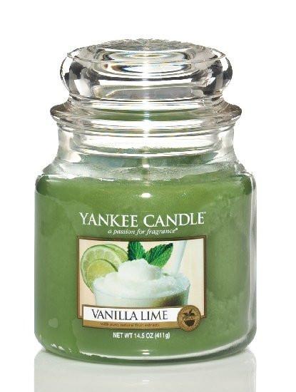 Yankee Candle svíčka classic střední Vanilla Lime-592