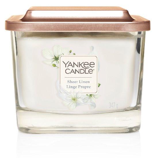 Yankee Candle svíčka Elevation střední Sheer Linen-198