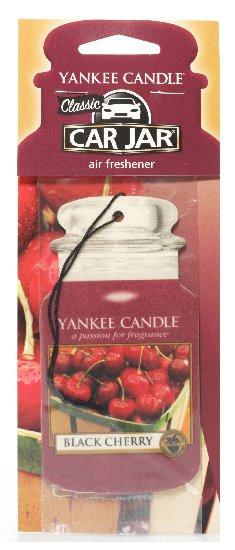 Yankee Candle visačka CLASSIC Black Cherry-725