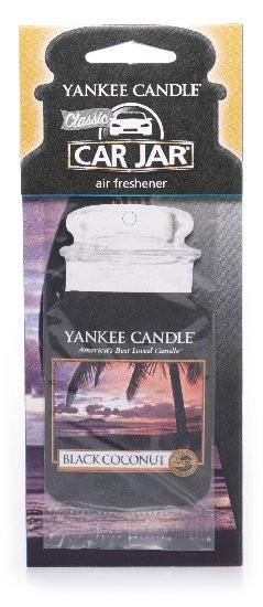 Yankee Candle visačka CLASSIC Black Coconut-344
