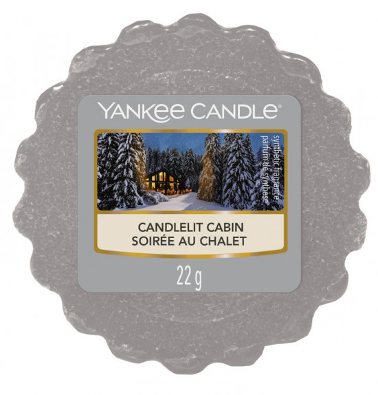 Yankee Candle vosk Candlelit Cabin-342