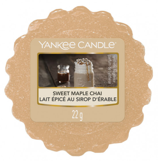 Yankee Candle vosk Sweet Maple Chai-460