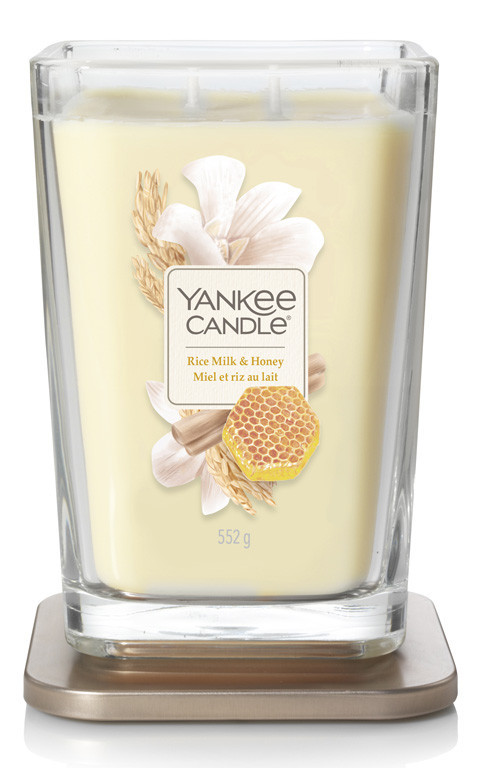YANKEE sklo3 Elevation Rice Milk & Honey-1260