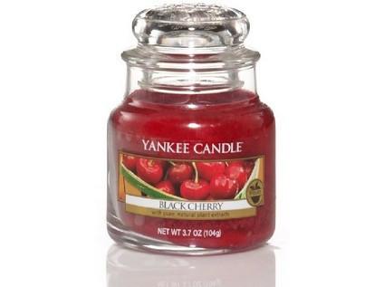 YANKEE svíčka sklo1 Black Cherry-1459