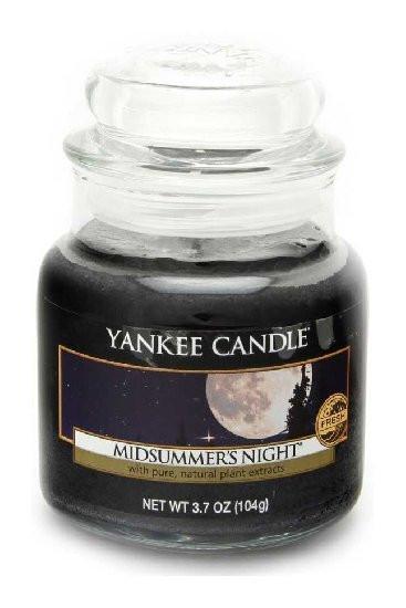 YANKEE svíčka sklo1 Midsummers Night-758