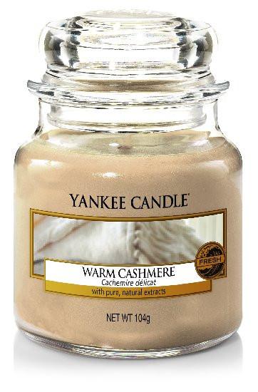 YANKEE svíčka sklo1 Warm Cashmere-174