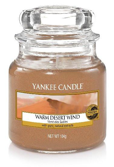 YANKEE svíčka sklo1 Warm Desert Wind-206