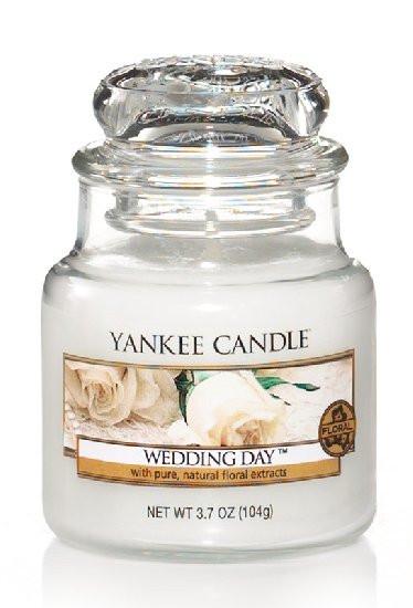 YANKEE svíčka sklo1 Wedding Day-1060