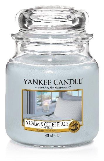 YANKEE svíčka sklo2 A Calm & Quiet Place-911