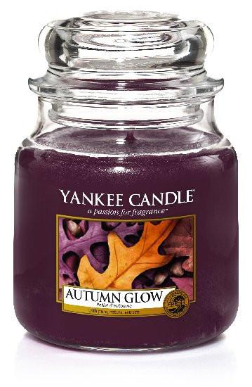 YANKEE svíčka sklo2 Autumn Glow-488