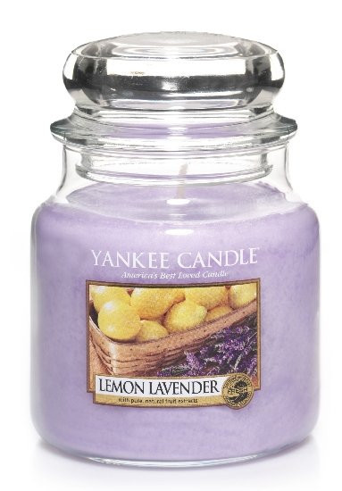 YANKEE svíčka sklo2 Lemon Lavender-77