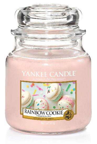 YANKEE svíčka sklo2 Rainbow Cookie-119