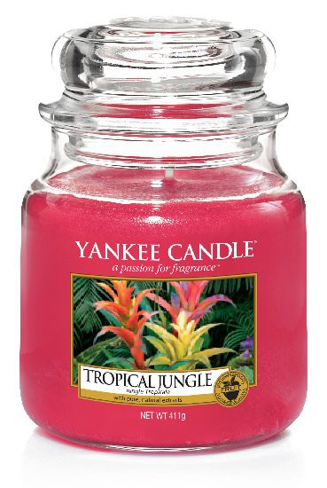 YANKEE svíčka sklo2 Tropical Jungle-178