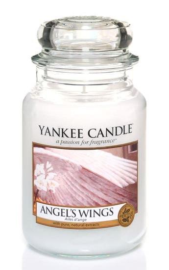 YANKEE svíčka sklo3 Angel's Wings-989