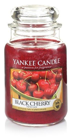 YANKEE svíčka sklo3 Black Cherry-71