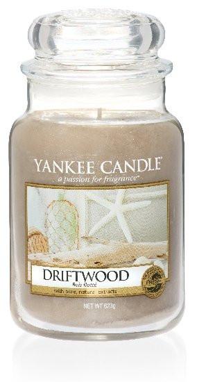 YANKEE svíčka sklo3 Driftwood-235