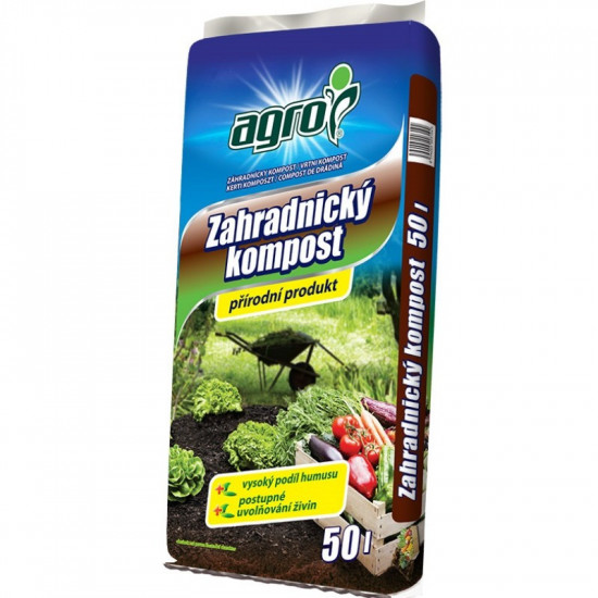 Zahradnický kompost Agro, balení 50 l