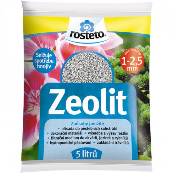 Zeolit Rosteto, velikost 1 - 2.5 mm, balení 5 l