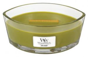 Aromatická svíčka loď, WoodWick Apple Basket, hoření až 40 hod