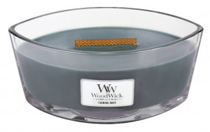 Aromatická svíčka loď, WoodWick Evening Onyx, hoření až 40 hod