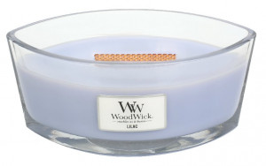 Aromatická svíčka loď, WoodWick Lilac, hoření až 40 hod