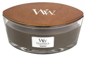 Aromatická svíčka loď, WoodWick Oudwood, hoření až 40 hod