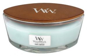 Aromatická svíčka loď, WoodWick Pure Comfort, hoření až 40 hod