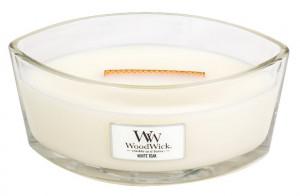 Aromatická svíčka loď, WoodWick White Teak, hoření až 40 hod
