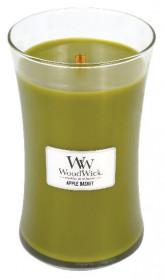 Aromatická svíčka váza, WoodWick Apple Basket, hoření až 120 hod
