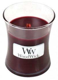 Aromatická svíčka váza, WoodWick Black Cherry, hoření až 30 hod