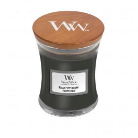 Aromatická svíčka váza, WoodWick Black Peppercorn, hoření až 30 hod