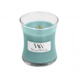 Aromatická svíčka váza, WoodWick Blue Java Banana, hoření až 30 hod