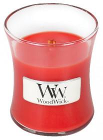Aromatická svíčka váza, WoodWick Crimson Berries, hoření až 30 hod