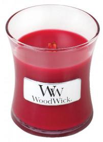 Aromatická svíčka váza, WoodWick Currant, hoření až 30 hod
